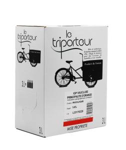 Vaucluse IGP Le Triporteur -  Bib 3L - Vin rouge