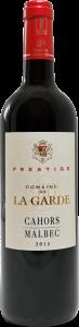 Cahors Malbec - Domaine de la garde cuvée Prestige - Vin rouge