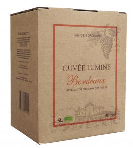 Bordeaux Château Lagrugère - Cuvée Lumine - Bib 5L - BIO - Vin rouge