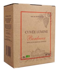 Bordeaux Château Lagrugère - Cuvée Lumine - Bib 3L - BIO - Vin rouge