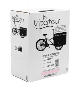Vaucluse IGP - Le Triporteur - Bib 3L -Vin rosé