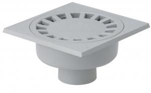 Siphon de cour à emboîture extérieure verticale - Girpi - 250x250 mm