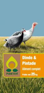 Aliment complet - Dindonneau/pintadeau - 25 kg