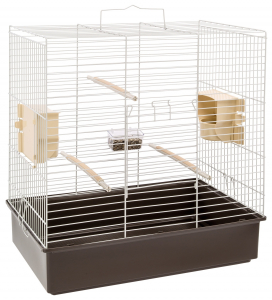 "Cage ""Sonia"" 61.5 x 40 x 65 cm Ferplast - Pour calopsittes et perruches"