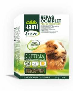 Repas complet pour cochon d'inde - Hamiform - 900 gr