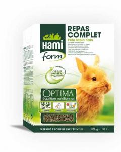 Repas complet pour lapin nain - Hamiform - 900 gr