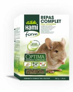 Repas complet pour chinchilla - Hamiform - 900 gr