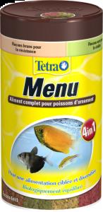 Aliment complet pour poissons d'ornement - Tetra Menu - 250 ml