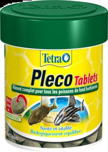 Aliment complet pour poissons de fond herbivores - Tetra Pleco Tablets - 66 ml