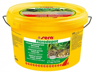 Substrat enrichi longue durée Floredepot - Sera - 4,7 kg