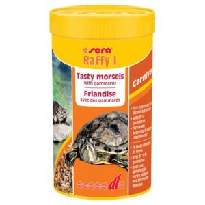 Raffy I nature - Sera - Pour tortues aquatiques, petits reptiles carnivore et amphibiens - Flacon de 250ml