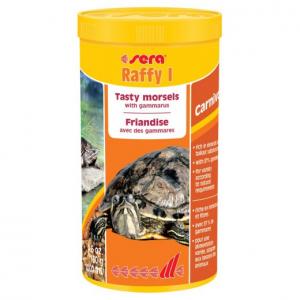 Raffy I nature - Sera - Pour tortues aquatiques, petits reptiles carnivore et amphibiens - Flacon de 1L