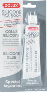 Colle silicone Spécial aquarium - Zolux - 80 ml