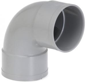Coude simple femelle-femelle - Girpi - 125 mm