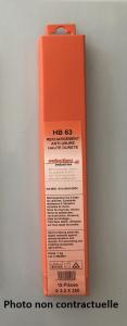 Électrode HB63 Rechargement - 3.2-19 - Selectarc