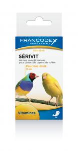 Aliment complémentaire oiseaux Sérivit - Francodex - 15 ml
