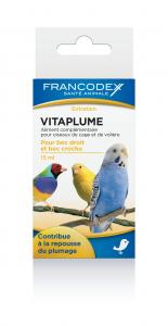 Aliment complémentaire oiseaux Vitaplume - Francodex - 15 ml