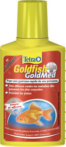 Médicament contre les maladies les plus courantes - Goldfish Goldmed - Tetra - 100 ml