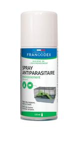 Spray antiparasitaire chien et chat - 125 ml - Francodex
