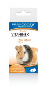 Aliment complémentaire Vitamine C cobaye - Francodex - 15 ml