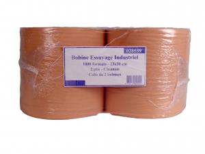 Bobine essuyage industriel - 23 x 30 cm - x 2