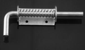 Verrou ressort en inox - LE BIHAN INOX - Ø 12 mm