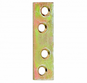 Platine d'assemblage bichromatée - 120 x 16 mm