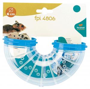 Tunnel FPI 4806 TURN pour cage hamster Ø 6 cm - Ferplast