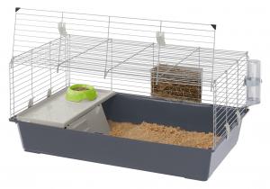 """Cage """"Rabbit 100"""" pour lapins et cochons d'Inde - Ferplast"""