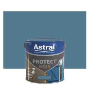 Peinture protect'Bois - Astral - Satin - Ciel d'orage - 2.5 L