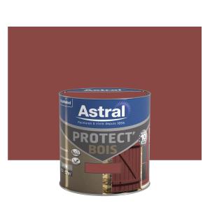 Peinture protect'Bois - Astral - Satin - Teck - 0.5 L