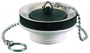Bonde de lavabo à bouchon - Noyon & Thiebault - Ø 63 mm