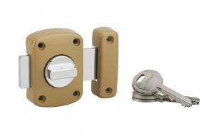 Verrou automatique - Thirard - À bouton et cylindre 35 mm