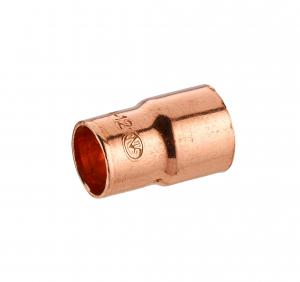 Manchon cuivre à souder - Noyon & Thiebault - Double femelle réduit Ø16-12