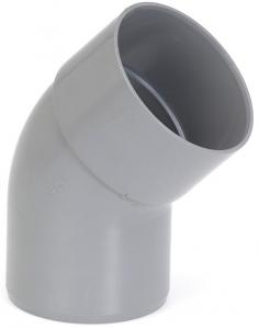 Coude simple mâle femelle - Girpi - 32 mm - 45°