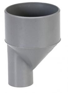 Réduction excentrée mâle femelle - Girpi - 63/50 mm