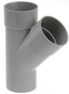Culotte de branchement mâle femelle - Girpi - 125 mm - 45°