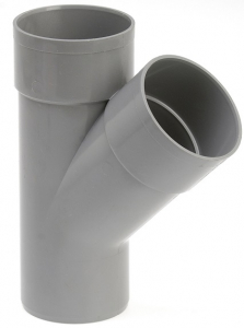 Culotte de branchement femelle femelle - Girpi - 250 mm - 45°
