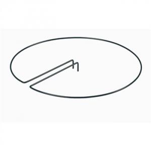 Anneau de soutien - Centré - En acier - 40 cm