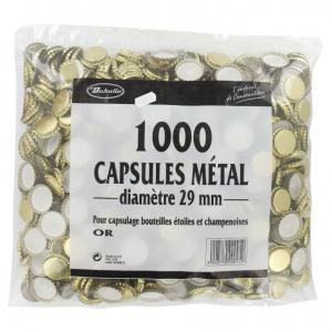 1000 capsules métal - Duhalle - Ø 29 mm