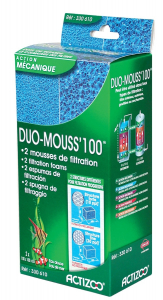 2 mousses de filtration - Duo Mouss'100 - Actizoo