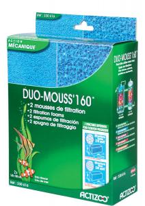 2 mousses de filtration - Duo Mouss'160 - Actizoo