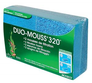 2 mousses de filtration - Duo Mouss'320 - Actizoo