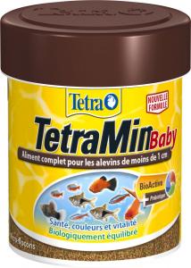 Aliment complet pour les alevins - TetraMin Baby - 66 ml
