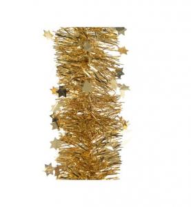 Guirlande or et étoiles - 2,7 m