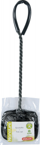 Epuisette rectangulaire - 8 cm - Noire