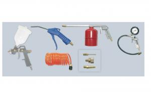 Kit 8 accessoires air comprimé