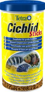 Aliment complet pour grans cichlidés - Cichlid Sticks - Tetra - 1 L