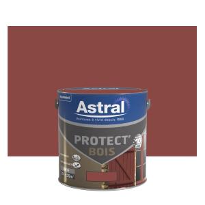 Peinture protect'Bois - Astral - Satin - Teck - 2.5 L