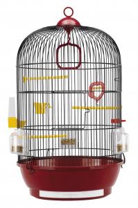 """Cage """"Diva Noir"""" pour canaris et petits oiseaux exotiques - Ferplast"""
